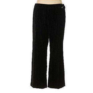 Venezia Jeans clothing Co. Black Velvet Dress pant